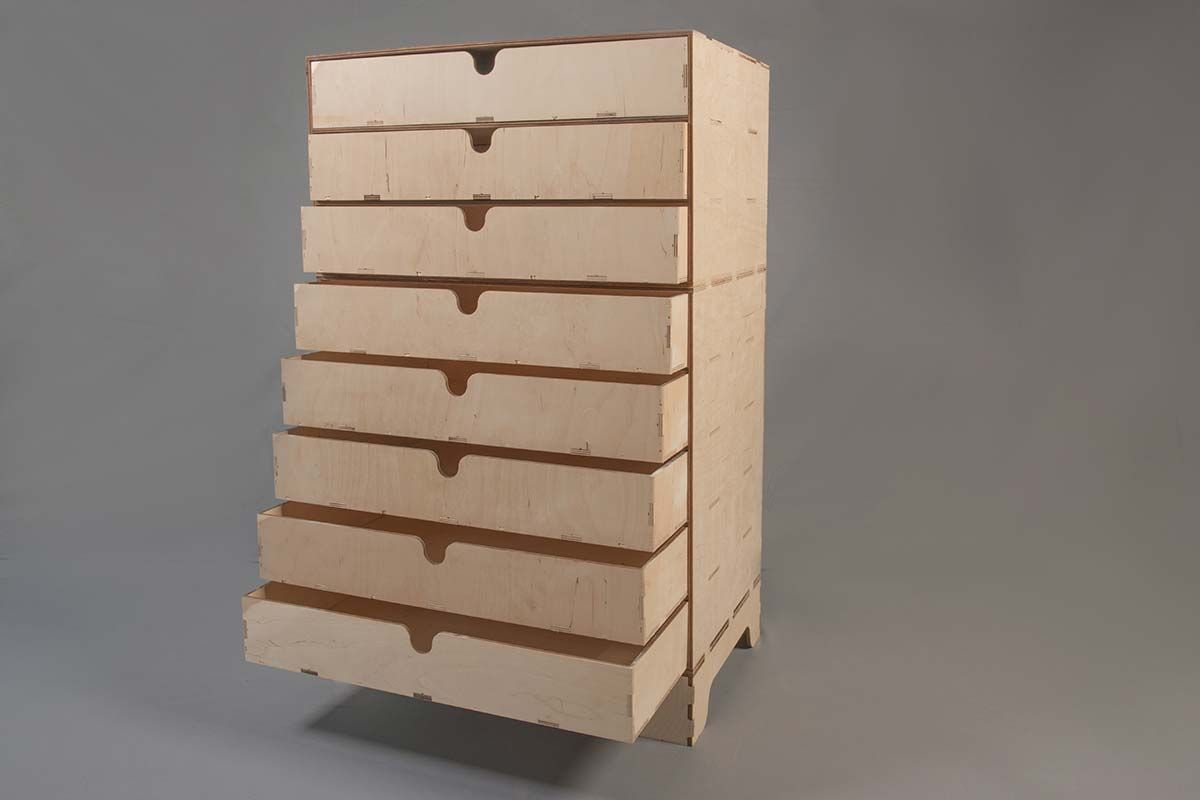 Laser Cut Drawers & Plinths