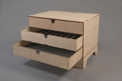 3 Drawer Unit