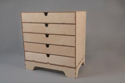 5 Drawer Unit