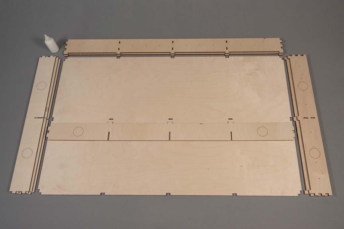 Baseboard Flat Pack